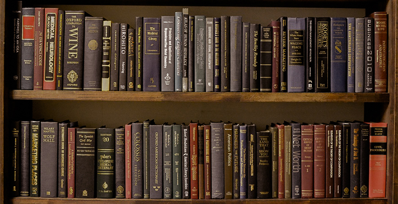 古書風洋書のコーディネート例
