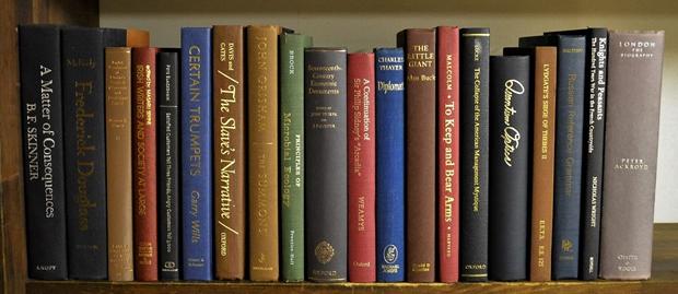 古書風の洋書コーディネート